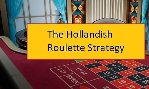 إستراتيجية هولاندش في الروليت اون لاين