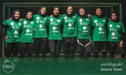 انطلاق دوري كرة القدم للنساء في السعودية